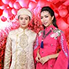 Dieu Nhi and Duy Khanh at an event for Chay Di Roi Tinh (2016)