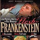 Udo Kier, Joe Dallesandro, and Monique van Vooren in Flesh for Frankenstein (1973)