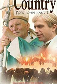 Sam Neill and Pope John Paul II in From a Far Country (1981)