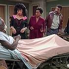 Cleavon Little, Marla Gibbs, Cal Gibson, Jackée Harry, Gwendolyn Shepherd, and Hal Williams in 227 (1985)
