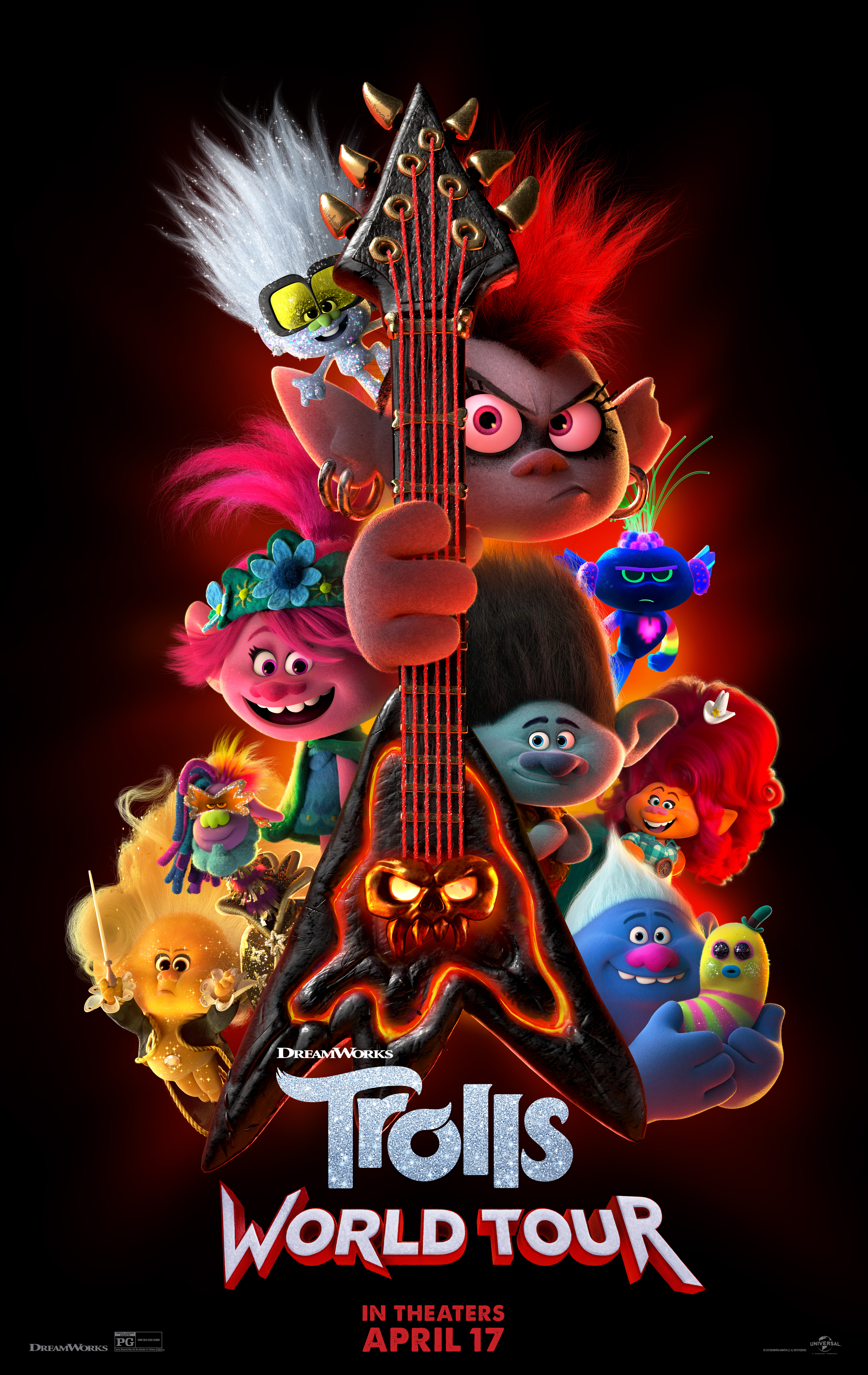 TROLLS Poster Cool New Kids 2017 Movie Comedy Hit Film FREE P+P CHOOSE YOUR SIZE