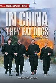 Kim Bodnia, Dejan Cukic, Tomas Villum Jensen, and Nikolaj Lie Kaas in I Kina spiser de hunde (1999)