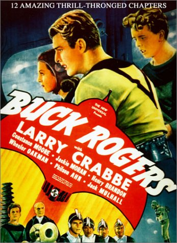 Buster Crabbe, Constance Moore, and Jackie Moran in Buck Rogers (1939)