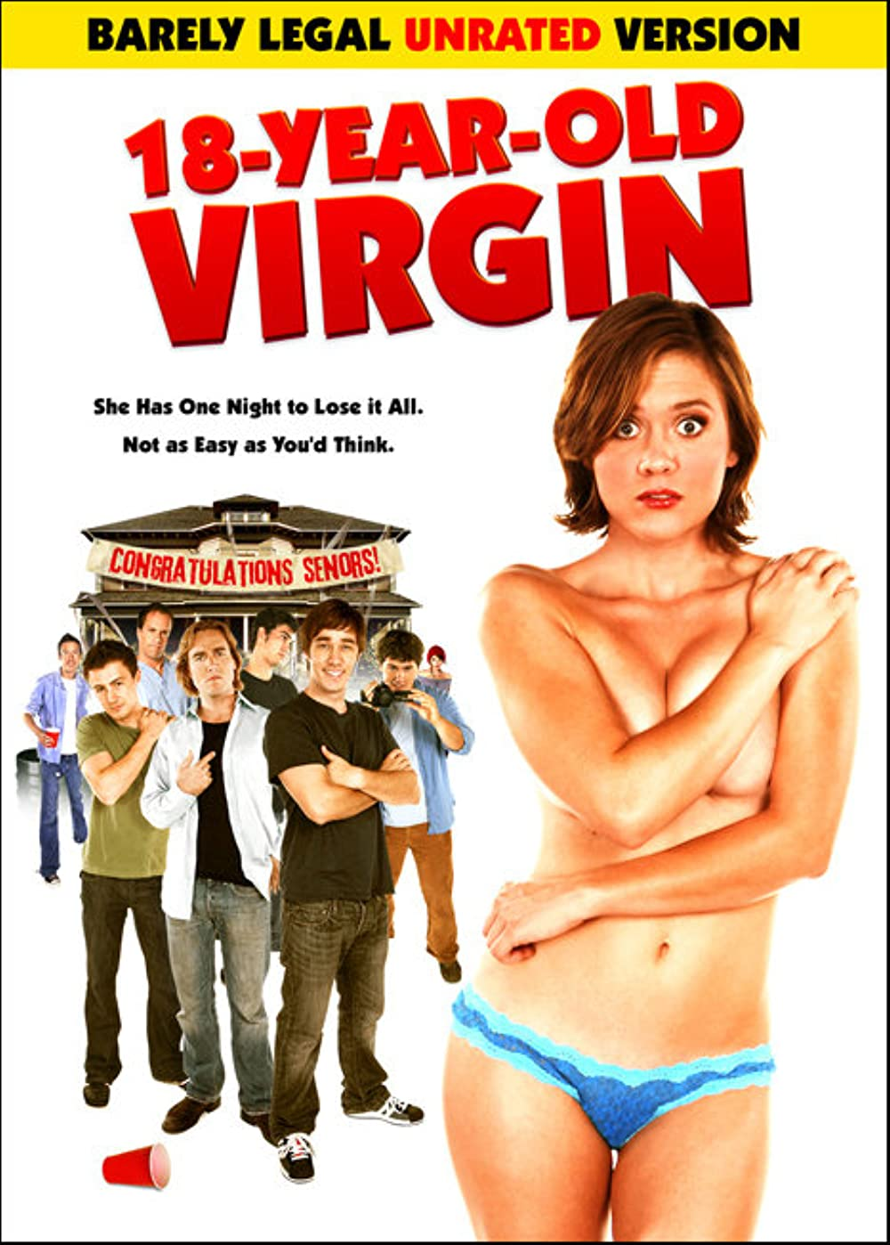 18+ 18 Year Old Virgin 2009 English 280MB UNRATED BluRay Download