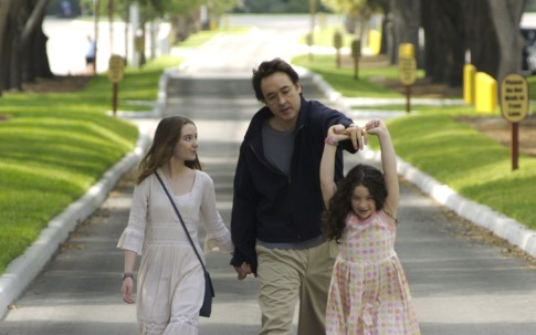 John Cusack, Shélan O'Keefe, and Gracie Bednarczyk in Grace Is Gone (2007)