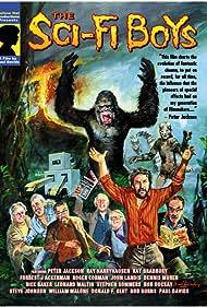Basil Gogos of FAMOUS MONSTERS fame painted cover showing the cast:  Peter Jackson, Ray Harryhausen, Ray Bradbury, John Landis, Dennis Muren, Rick Baker and Forrest J Ackerman