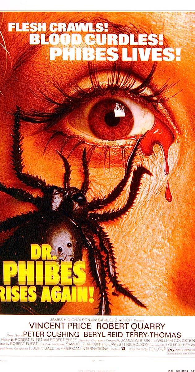 Subtitle of Dr. Phibes Rises Again