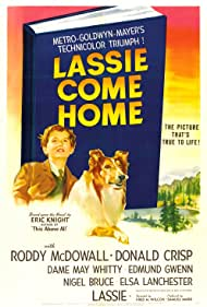 Roddy McDowall and Pal in Lassie Come Home (1943)