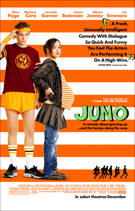 Michael Cera and Ellen Page in Juno (2007)