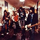"P.J. Soles with The Ramones in ""Rock 'n' Roll High School"""