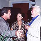 Mel Gibson and James Coburn at an event for Conspiracy Theory (1997)