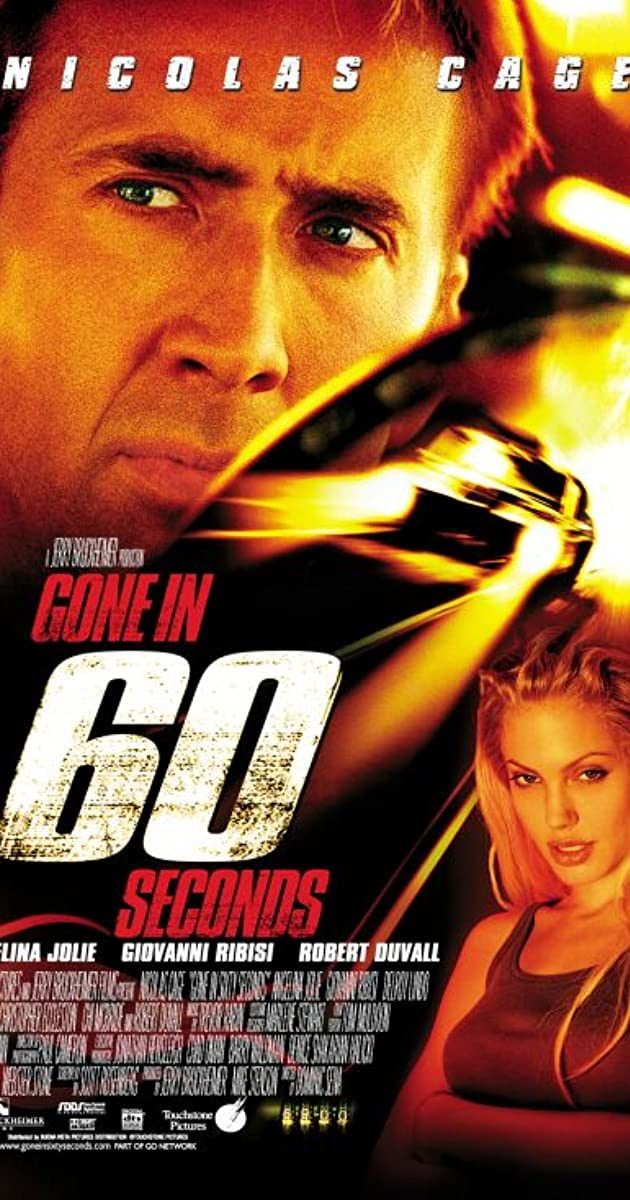 Play or Watch Movies for free Gone in 60 Seconds (2000)