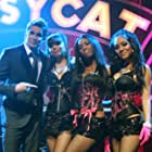 Mark McGrath, Melissa Reyes, Chelsea Korka, and Asia Nitollano in The Pussycat Dolls Present: The Search for the Next Doll (2007)