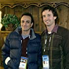 Hank Azaria and Trevor Groth at an event for Nobody's Perfect (2004)
