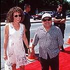 Danny DeVito and Rhea Perlman at an event for Matilda (1996)
