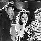Leslie Caron, Peter Chelsom, and Lee Evans in Funny Bones (1995)