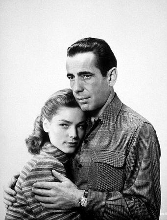 Humphrey Bogart and Lauren Bacall 1947
