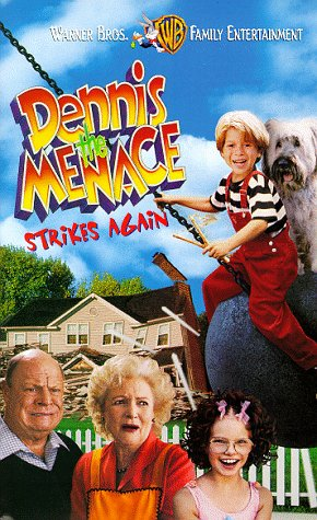 Image result for DENNIS THE MENACE STRIKES AGAIN! ( 1998 ) poster