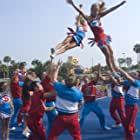 Michael Copon, Jennifer Tisdale, Ashley Benson, Cassandra Scerbo, Anniese Taylor Dendy, and Noel Areizaga in Bring It On: In It to Win It (2007)
