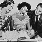 """""""Father's Little Dividend"""" J. Bennett, E. Taylor, D. Taylor, D. Clark 1951 MGM MPTV"""