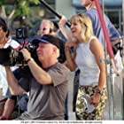 Director of Photography Elliot Davis (behind camera) and Director Catherine Hardwicke (right).