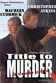 Title to Murder Poster