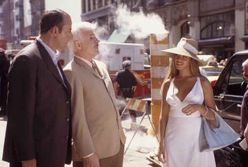 Steve Martin, Jean Reno, and Beyoncé in The Pink Panther (2006)