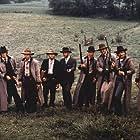 """""""The Long Riders"""" D. Carradine, K. Carradine, R. Carradine, R. Quaid, S.Keach,J. Keach"""