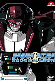 Saber Rider and the Star Sheriffs Poster