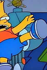 Bart Gets Hit by a Car Poster