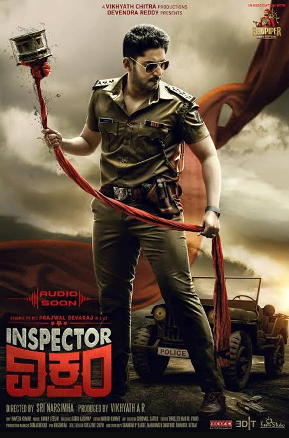Inspector Vikram (2021) UNCUT Dual Audio Hindi ORG 720p HDRip x264 AAC 900MB ESub