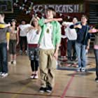 Ashley Tisdale, Vanessa Hudgens, Zac Efron, and Lucas Grabeel in High School Musical (2006)