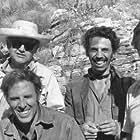 "Phil Feldman, Bruce Dern, Alfonso Arau & Kirk Douglas. ""Posse"", 1975."