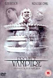 Project Vampire (1993) Poster - Movie Forum, Cast, Reviews