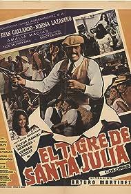 Juan Gallardo, Norma Lazareno, and Amalia Macías in El tigre de Santa Julia (1974)