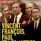 Gérard Depardieu, Yves Montand, Michel Piccoli, and Serge Reggiani in Vincent, François, Paul... et les autres (1974)