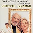 Lauren Bacall, Gregory Peck, and Cecilia Peck in The Portrait (1993)