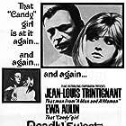 Jean-Louis Trintignant and Ewa Aulin in Col cuore in gola (1967)