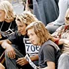 Heath Ledger, Michael Angarano, Emile Hirsch, and Victor Rasuk in Lords of Dogtown (2005)