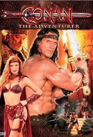 Angelica Bridges, Ralf Moeller, and Jeremy Kemp in Conan (1997)