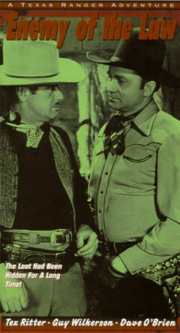 Jack Ingram and Tex Ritter in Enemy of the Law (1945)