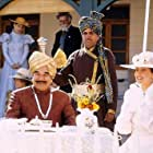 Javed Khan, Kulbhushan Kharbanda, and Rachel Shelley in Lagaan: Once Upon a Time in India (2001)