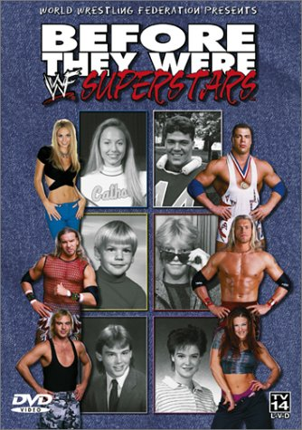 Kurt Angle, Adam Copeland, Amy Dumas, Matt Hyson, Stacy Keibler, and Jay Reso in Before They Were WWF Superstars (2002)