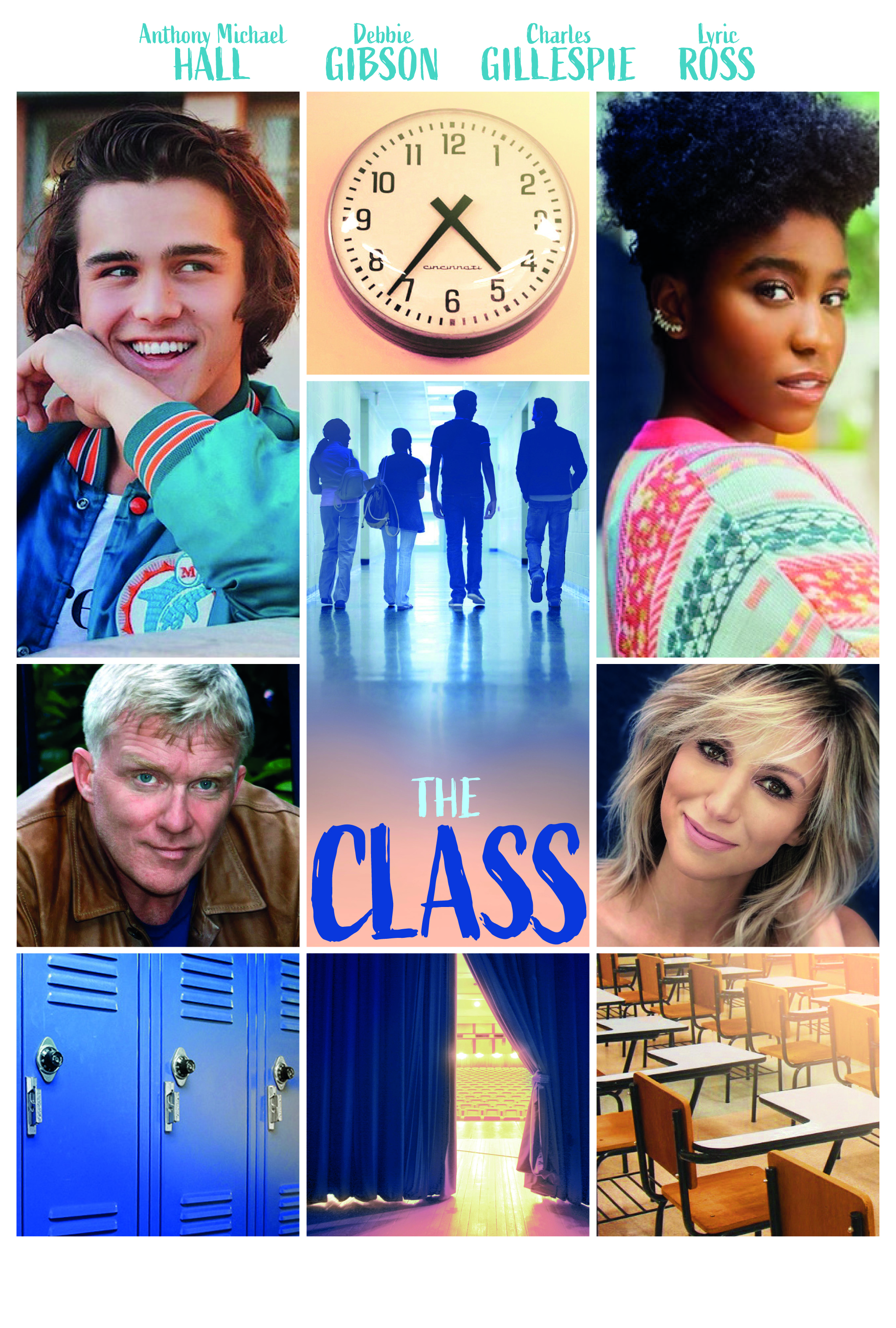 Anthony Michael Hall, Debbie Gibson, Charlie Gillespie, and Lyric Ross in The Class
