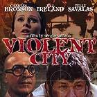 Charles Bronson, Telly Savalas, and Jill Ireland in Città violenta (1970)