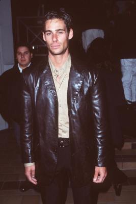 Nick Scotti at an event for Kurt & Courtney (1998)