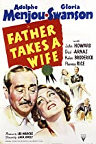 Father Takes a Wife (1941) Poster