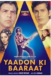 Yaadon Ki Baaraat Poster