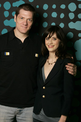 Zooey Deschanel and Adam Rapp at an event for Winter Passing (2005)