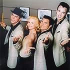 Travis Fine, Bonnie Sommerville, Brad Hawkins and Kai Lennox as The Heartaches.